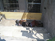 Sleeping on the streets of NYC